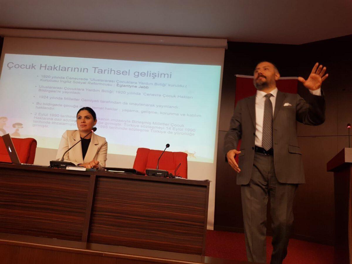 Av. Sezen GÜRHAN ve Av. Ozan GÜRHAN tarafından Gazi Üniversitesinde verilen konferans